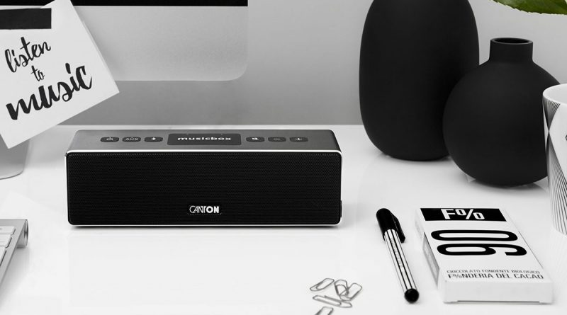 Bluetooth Box Canton Musicbox XS