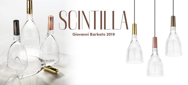 Vistosi präsentiert eine neue Kollektion Scintilla Pendelleuchten