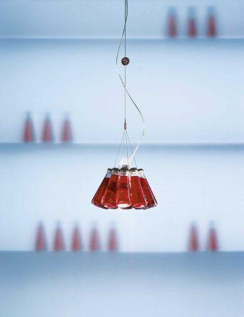 Ingo Maurer Campari Light–Leuchtende Extravaganz für die Hausbar