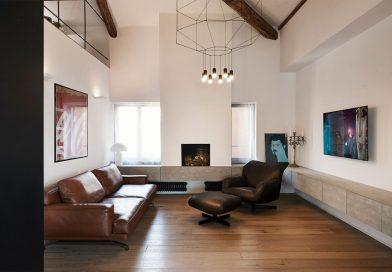 Renowned designers equip a Roman house with Vibia lighting