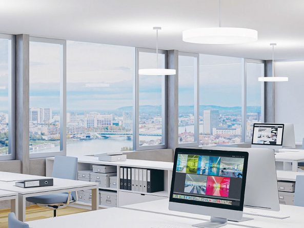 Regent Lighting präsentiert die Büroleuchte Milano Slim