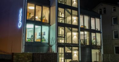 Puk lamps from Top Light brighten up a new building
