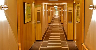 The cruise liner MS Europa 2 equipped with lamps from Top Light