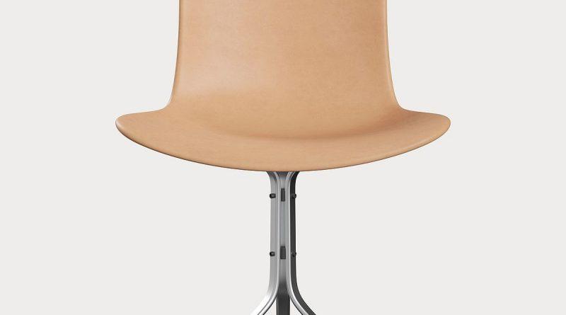 Der PK9 Stuhl der internationalen Designmarke Fritz Hansen