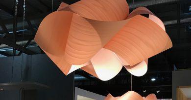 LZF SWIRL, eine Leuchte aus Echtholzfurnier